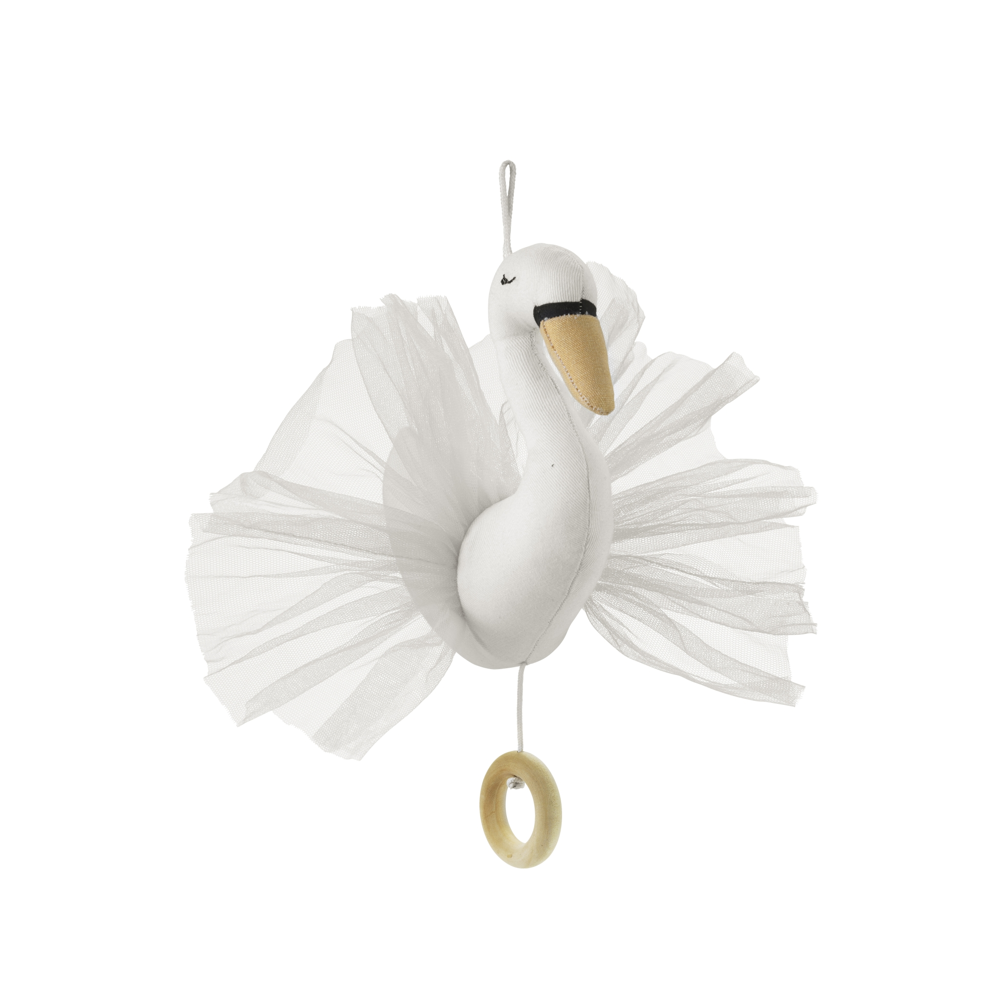 elodie details musical mobile the ugly duckling