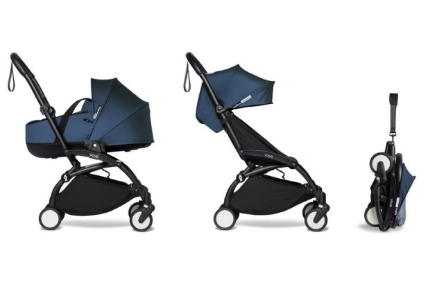 Convertible strollers