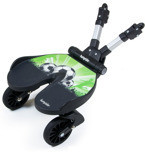 Stroller stand-on boards