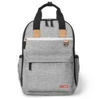Skip Hop - Duo Backpack - Grey Melange