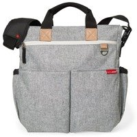 Skip Hop - Duo Signature Diaper Bag - Grey Melange