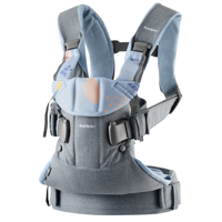 BABYBJÖRN - Baby Carrier ONE AIR, Confetti/Blue