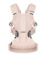 BABYBJORN - Baby Carrier ONE AIR, powder pink
