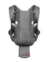 BABYBJORN - Baby Carrier ORIGINAL ORIGINAL COTTON/JERSEY, grey