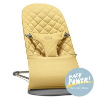 BABYBJÖRN - Bouncer BLISS COTTON, Yellow