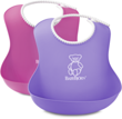 BABYBJORN - Soft Bibs - Pink / Purple