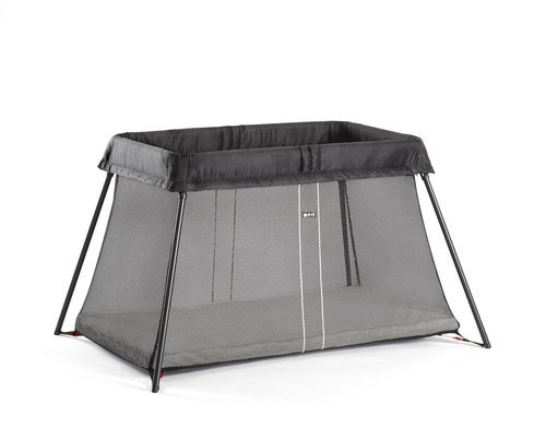 BABYBJORN - Travel Crib Light, Black