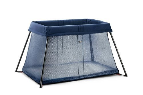 BABYBJÖRN - Travel Crib Light, Dark blue
