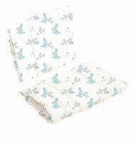 Baby Dan - DanChair cushion - Bunny Hop, blue