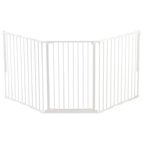 Baby Dan - Safety gate FLEX L, white