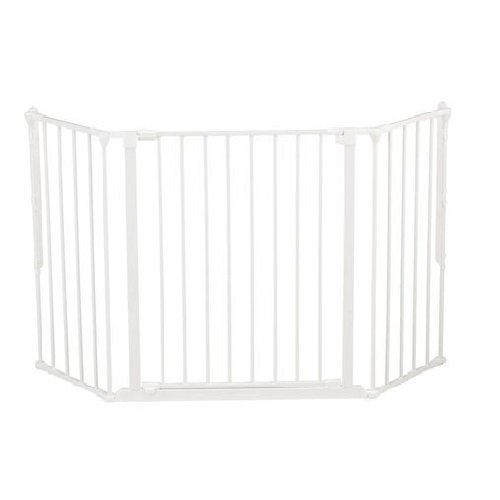 Baby Dan - Safety gate FLEX M, white