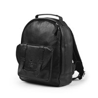 Elodie Details Backpack MINI - Black Leather