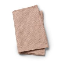 Elodie Details - Moss-Knitted Blanket - Powder Pink