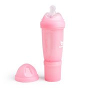 Herobility - Anti-Colic HeroBottle 340 ml, pink