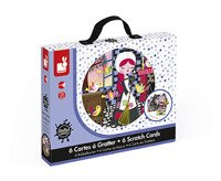 Janod - Artistic Kit Scratch Cards Cinderella
