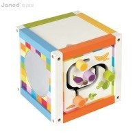 Janod - Wooden Educational Cubes