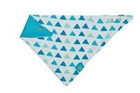 Lassig - Bandana with Silicone Teether Royal Triangle boys