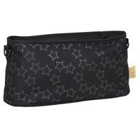 Lassig - Casual Label Reflective Star black Stroller organizer