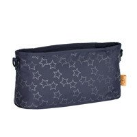 Lassig - Casual Label Reflective Star blue Stroller organizer