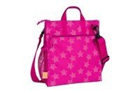 Lassig - Casual Label Reflective Star magenta Diaper bag