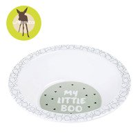 Lassig - Dish Bowl Melamine, Little Spookies Olive