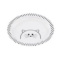 Lassig - Kids Plate with silicone, Little Chums Cat
