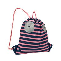 Lassig - Mini String Bag, coral
