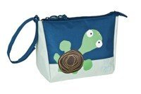 Lassig - Mini Washbag, Wildlife - Turtle