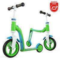 Scootandride - Highwaybaby 2w1 scooter and bike 1+ Green