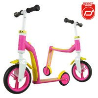 Scootandride - Highwaybaby 2w1 scooter and bike1+ Pink