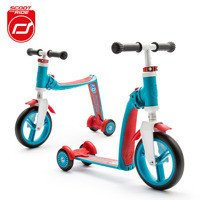 Scootandride - Highwaybaby PLUS 2in1 Scooter and bike 1+ Blue
