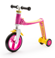 Scootandride - Highwaybaby PLUS 2in1 Scooter and bike 1+ Pink