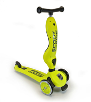 Scootandride - Highwaykick 2in1 1-5 years Lime