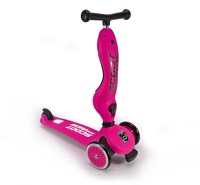 Scootandride - Highwaykick 2in1 1-5 years Pink