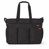 Skip Hop - Diaper Bag Double Signature Black