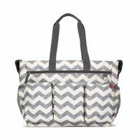 Skip Hop - Diaper Bag Double Signature Chevron