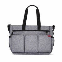 Skip Hop - Diaper Bag Double Signature Heather Grey