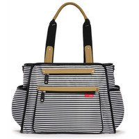 Skip Hop - Diaper Bag Grand Central Black Stripe