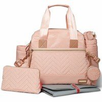 Skip Hop - Diaper bag Suite Satchel 6w1 Blush