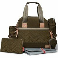 Skip Hop - Diaper bag Suite Satchel 6w1 Olive