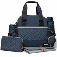 Skip Hop - Diaper bag Suite Satchel 6w1 Steel Grey