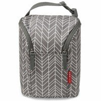 Skip Hop - Double bottle bag Grey Feather