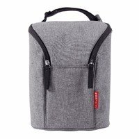 Skip Hop - Double bottle bag Heather Grey
