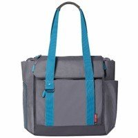 Skip Hop - Fit all-access diaper bag Graphite/Aqua