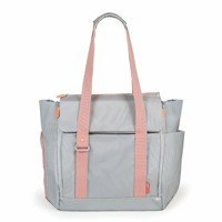 Skip Hop - Fit all-access diaper bag Platinum/Coral