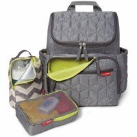 Skip Hop - Forma backpack diaper bag grey