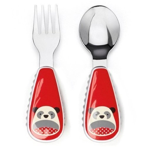 Skip Hop - Little kid fork & spoon Panda