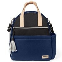 Skip Hop Nolita Neoprene Diaper Backpacks - Navy/Black