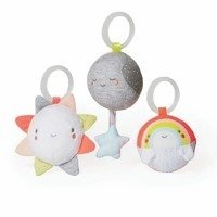 Skip Hop - Silver Lininig Cloud Ball Trio Baby Toy