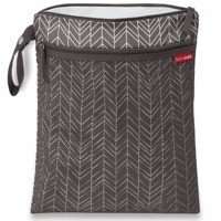 Skip Hop - Wet/dry bag Grey Feather